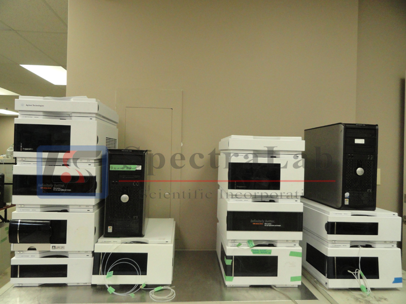 Agilent 1200 Prep Hplc System With Fraction Collector