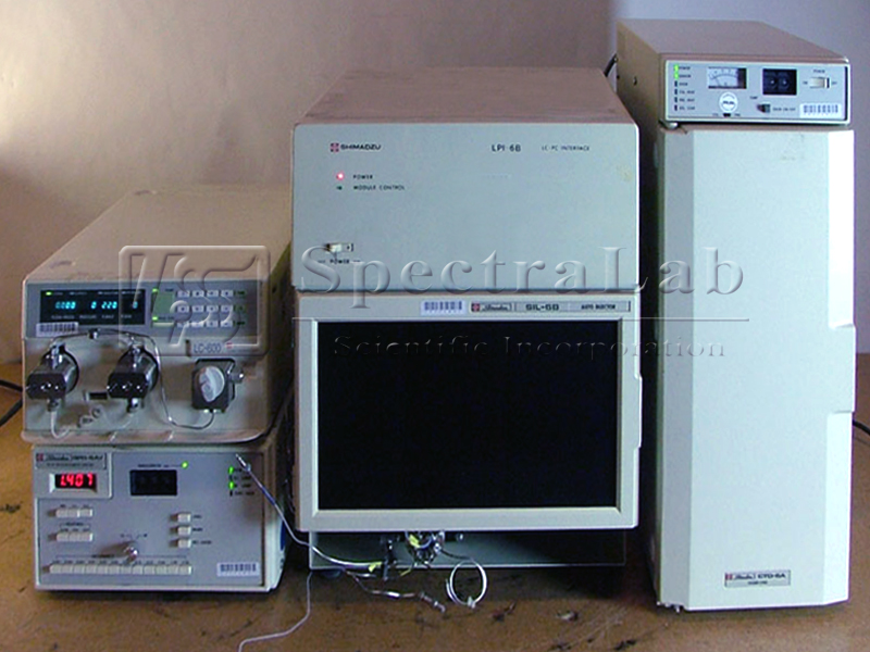 Shimadzu HPLC System
