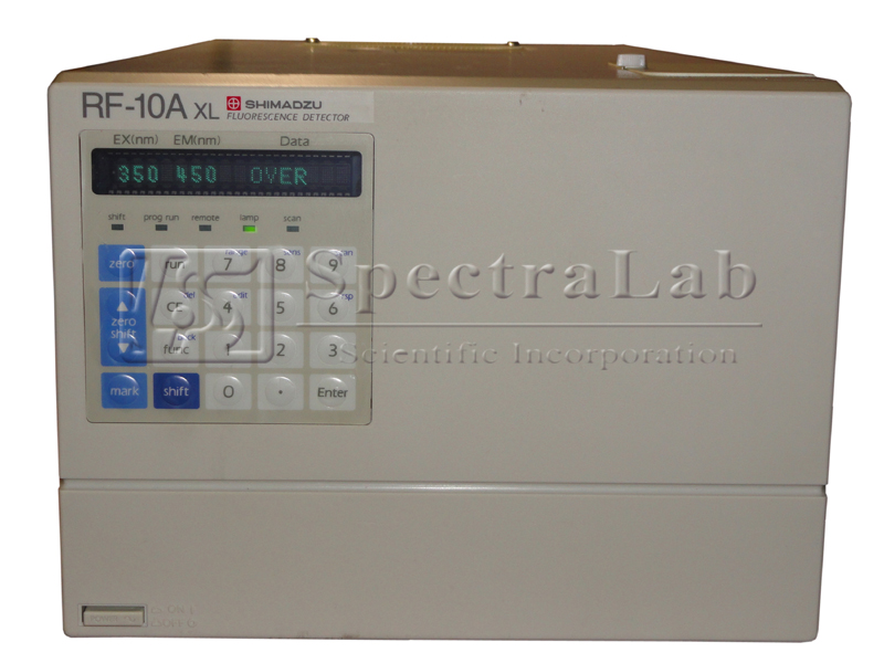 Shimadzu RF-10AXL Fluorescence Detector