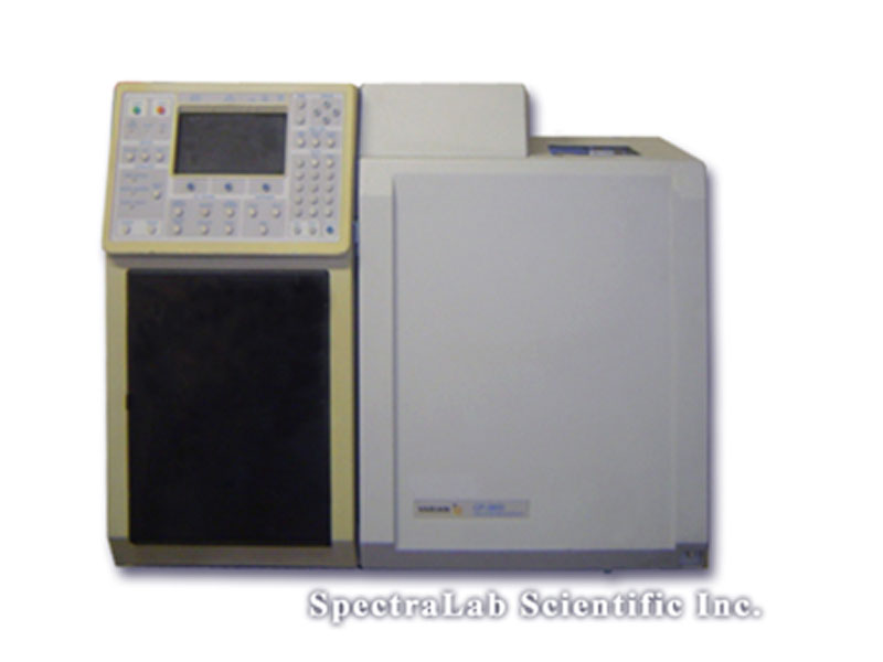 Varian CP3800 GC with Dual TCD