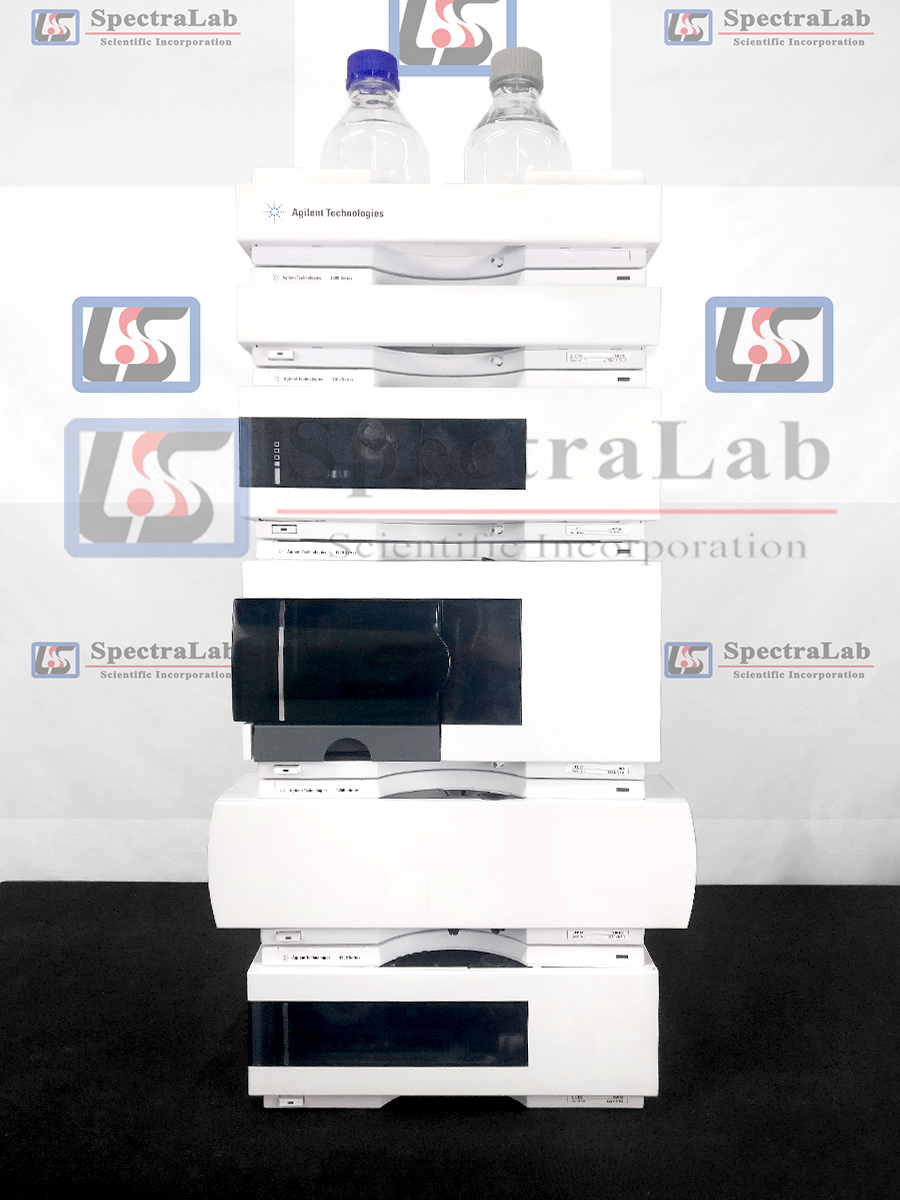Agilent 1200 Series HPLC system with G1311A Quat Pump and G1315B DAD