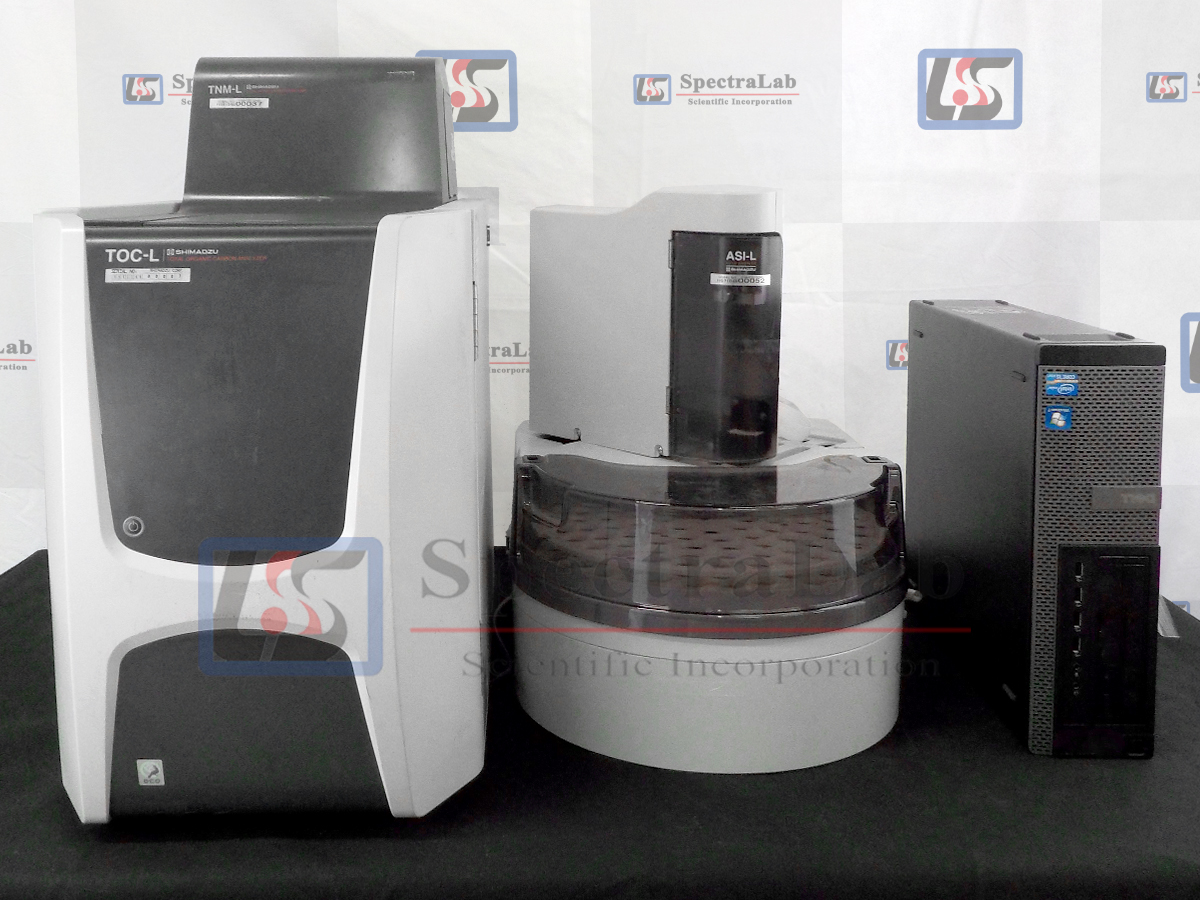 Shimadzu TOC-L CPN Analyzer with Total Nitrogen Unit TNM-L & ASI-L  Autosampler