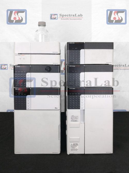 Shimadzu Prominence HPLC System with SPD-M20A DAD